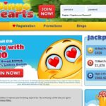 Bingo Hearts New Account Offer