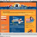 Bingodome Desktop Site Login