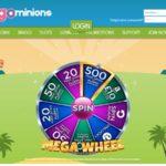 Bonus Bet Bingo Minions