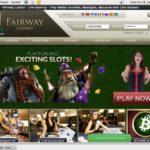 Bonus Code Fairwaycasino