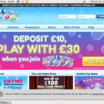 Bubble Bonus Bingo Bookmakers