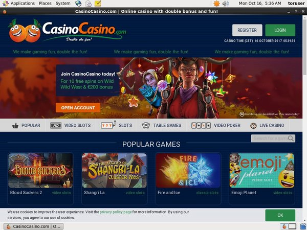 Casinocasino Odds To Win