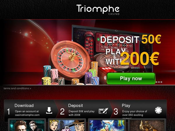 Casinotriomphe With Gift Card