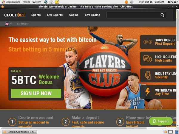 Cloudbet Mobile Download