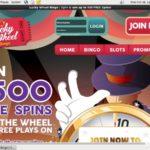 Deposit Bonus Lucky Wheel Bingo