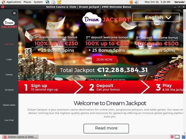 Dreamjackpot Danske