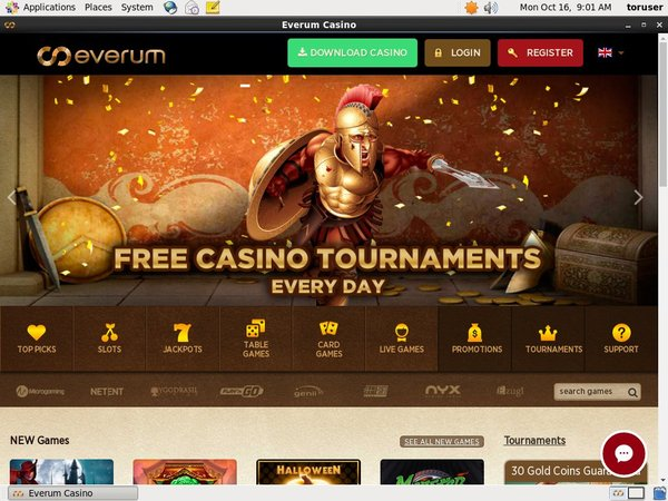 Everum Casino Deposita