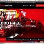 Fonecasino казино