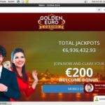Golden Euro Casino New Customer Bonus