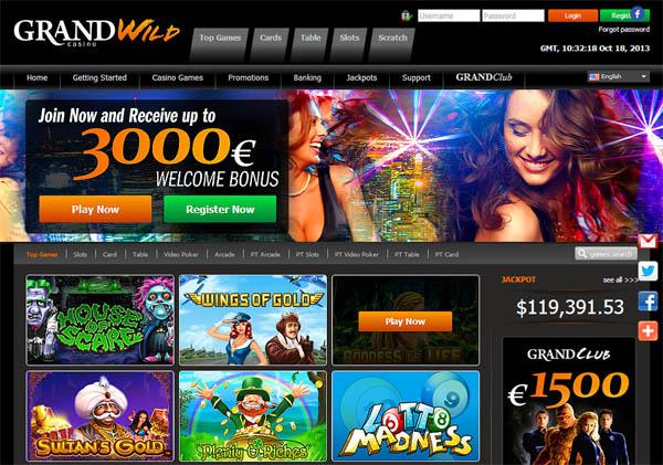 Grand Wild Casino Paypal Casino