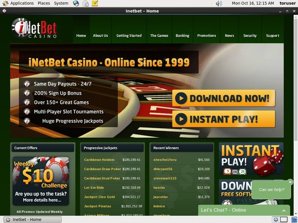 Inetbet Games And Casino