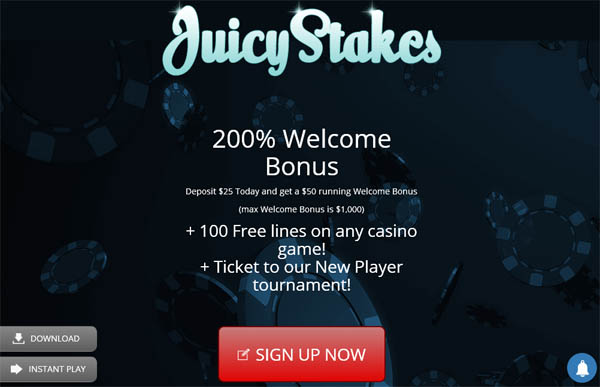 Juicystakes Canadian Dollars