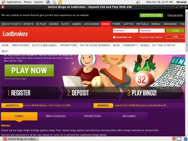Ladbrokes Bonus Money