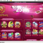 Lady Dream First Deposit Bonus