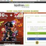 Lapalingo Sign Up