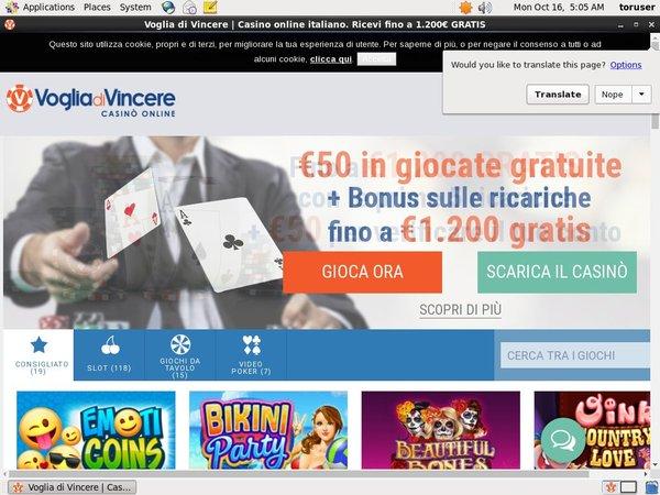 Mobile Deposit Voglia Di Vincere
