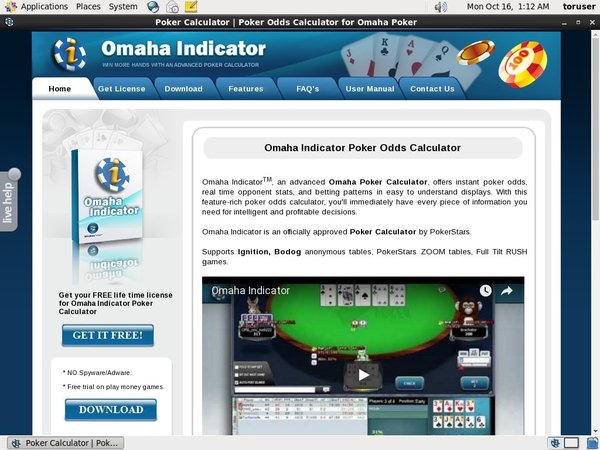 Omahaindicator Start Bonus