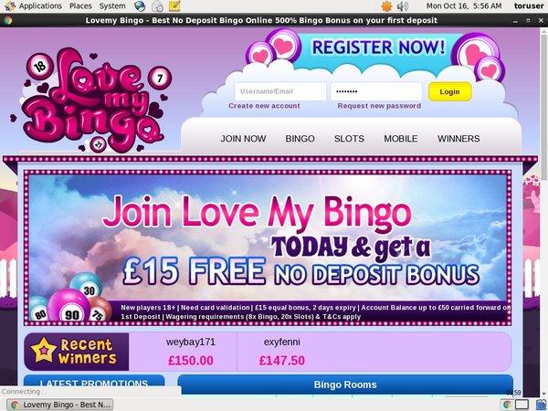 Online Casino Lovemybingo