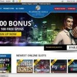 Platinumreels Join Up Bonus