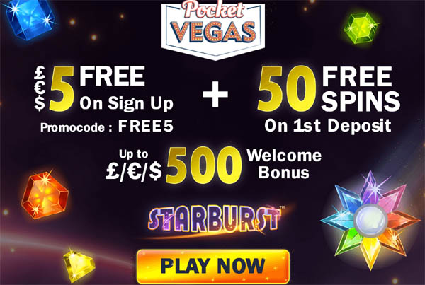 Pocket Vegas Deposit Money