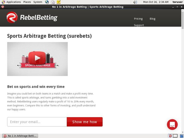 Rebel Betting Payment