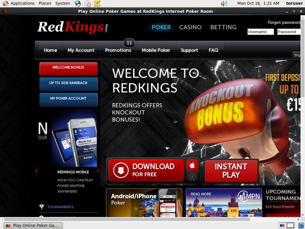 RedKings Poker Promotion Code