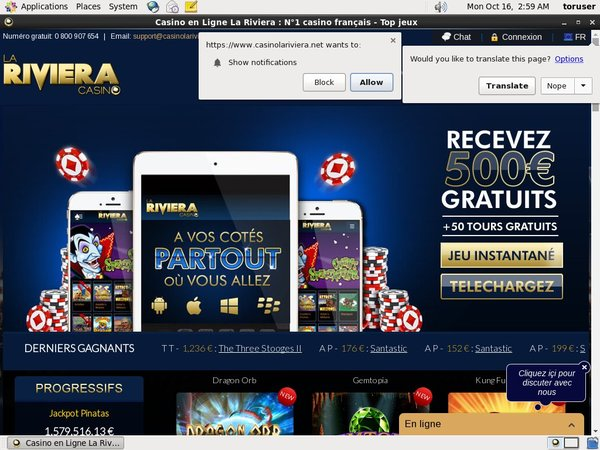 Riviera Casino Vidéo Poker