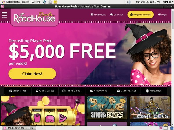 Roadhouse Reels Free Spins Bonus