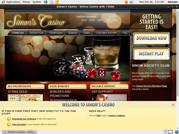 Simonsayscasino Top Online Casinos
