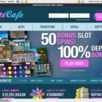 Slots Cafe Sign Up Free