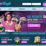Slots Cafe Welcome Bonuses