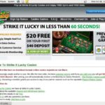 Strike It Lucky 50 Free Spins
