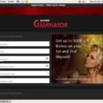 Supergaminator Join Free Bet