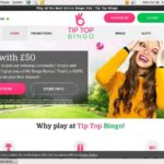 Tiptopbingo Deposit Offer