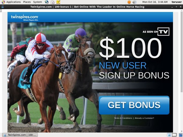 Twinspires Deposit Page