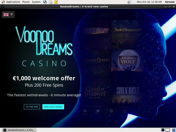 Voodoo Dreams Offer Paypal?