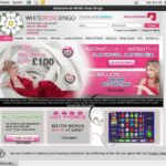 White Rose Bingo Registration Page