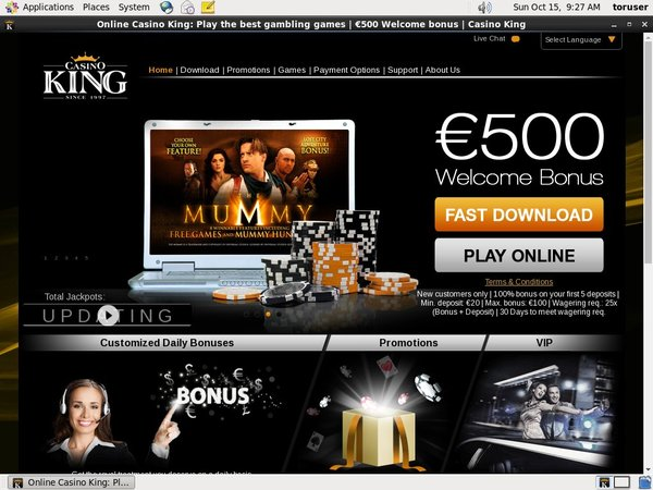Casino King Deposit Bitcoin