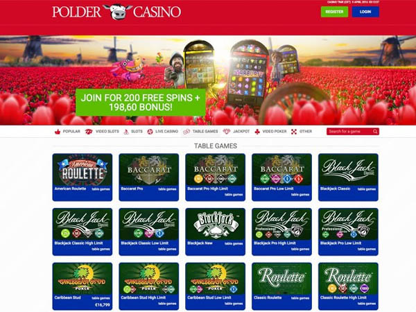 Polder Casino Bet