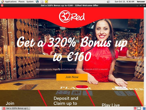 32 Red Live Roulette