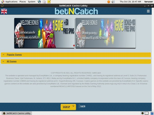 Betncatch Advert