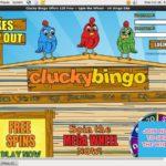 Cluckybingo E-wallet