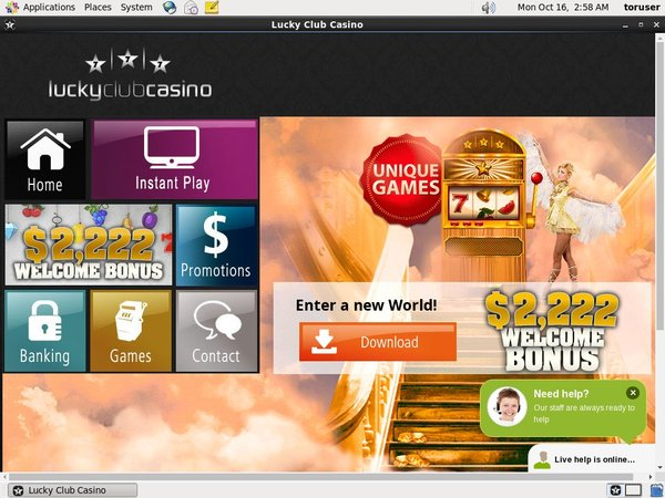 Lucky Club Casino Free Sign Up