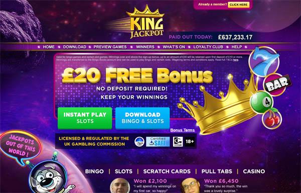 奖金 Kingjackpot