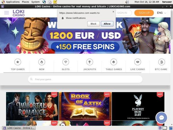 Loki Casino Play Online Casino