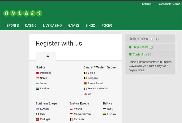 How To Create Unibet Account