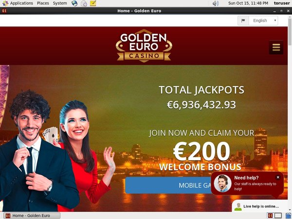 Goldeneuro No Wagering