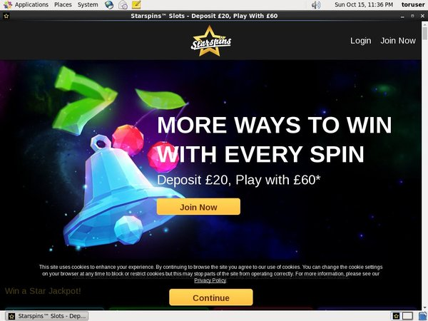 Starspins Online Casino Websites