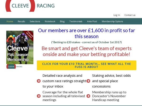 Spins Cleeve Racing