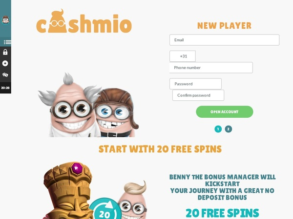 Cashmio Start Account